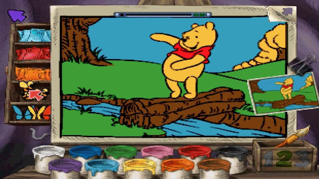 Download Winnie The Pooh - Preschool PS1 zona-games.com