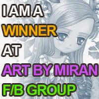 Winner At Art By Miran Facebook Challenge