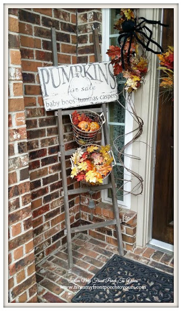 Fall Porch-From My Front Porch To Yours-Treasure Hunt Thursday