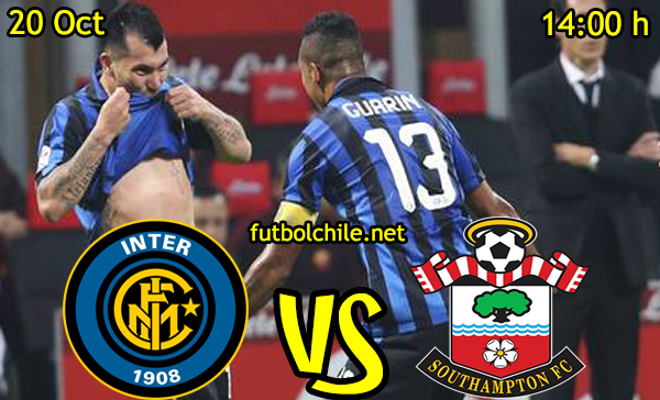Ver stream hd youtube facebook movil android ios iphone table ipad windows mac linux resultado en vivo, online:  Inter de Milán vs Southampton