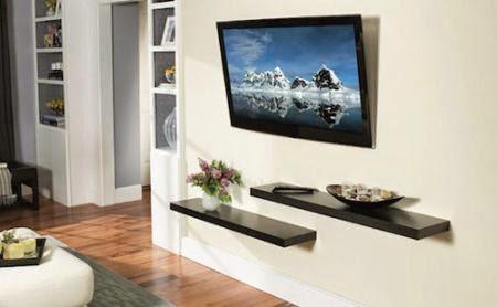 Tv In Muur : Televisie aan de muur