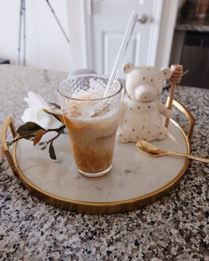iced vanilla latte at home recipe