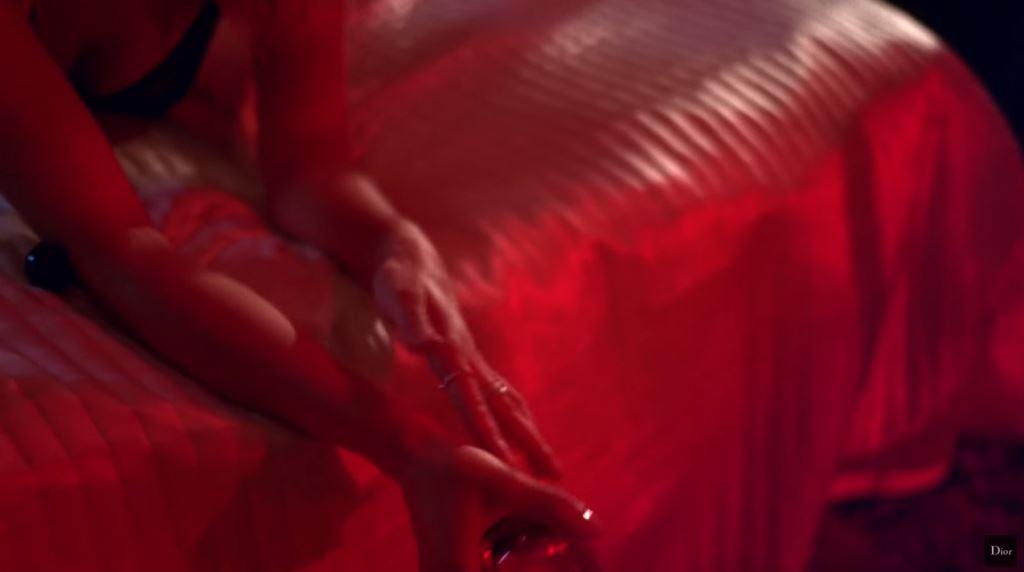 modella Pubblicità Dior Poison 2016