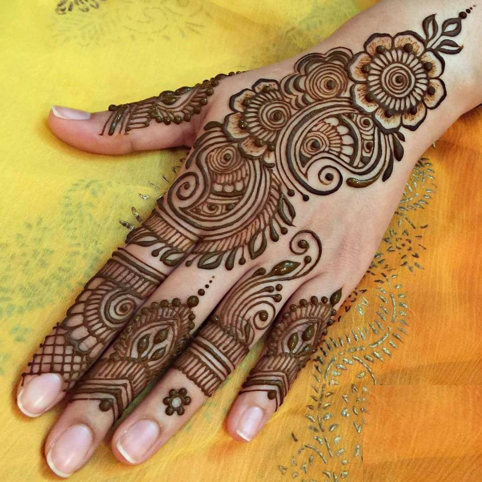 new latest arabic mehndi designs for hands 2018   sari info
