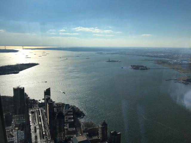 Vistas desde el One World Observatory. Nueva York con adolescentes | turistacompulsiva.com