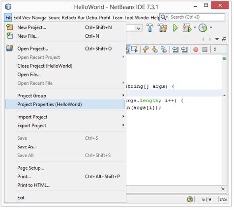 Sandun Tech: How to Pass Java Command-Line Arguments in Netbeans IDE
