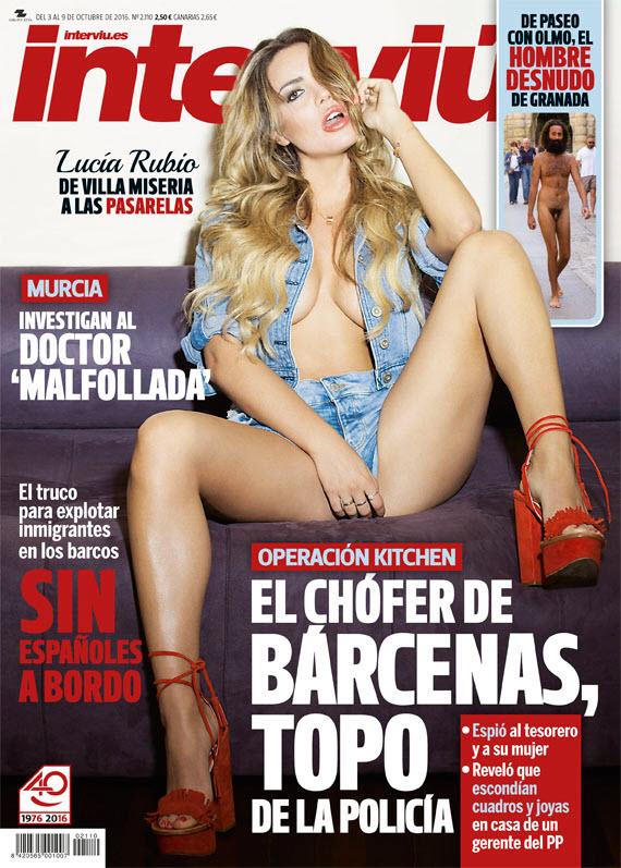 Interviú N° 2110: Lucía Rubio, la princesa de villa miseria