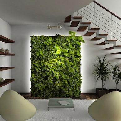 Jardines verticales, tendencia en decoración de interiores