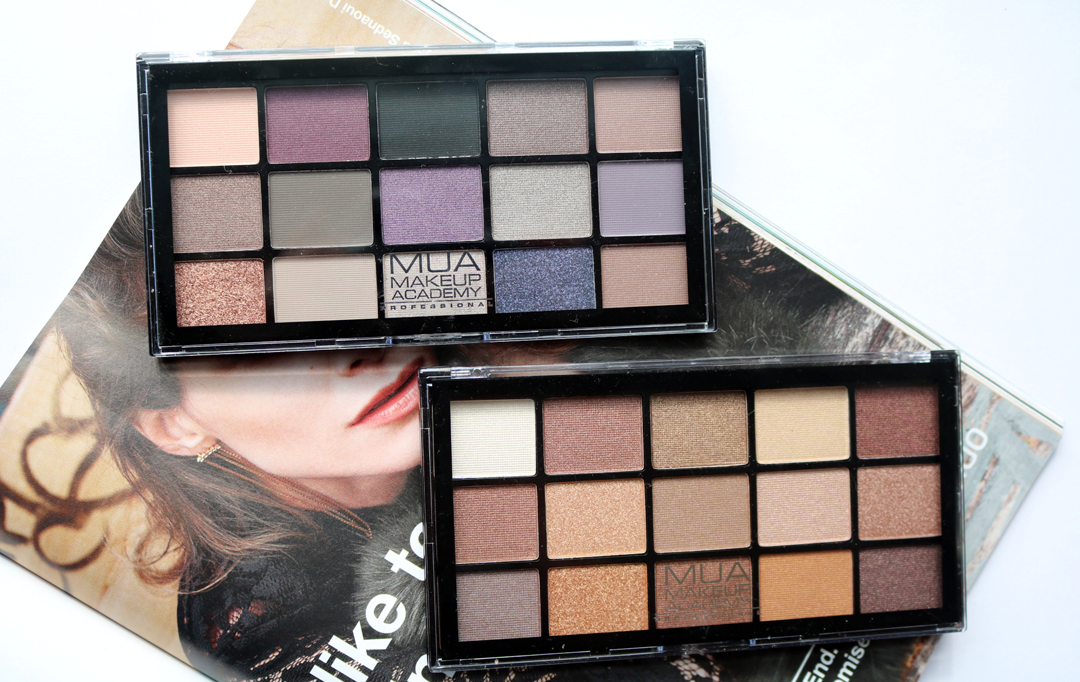 MUA 15 Shade Eyeshadow Palettes To Buy This Autumn - Twilight Delight and Au Naturel - Review & Swatches