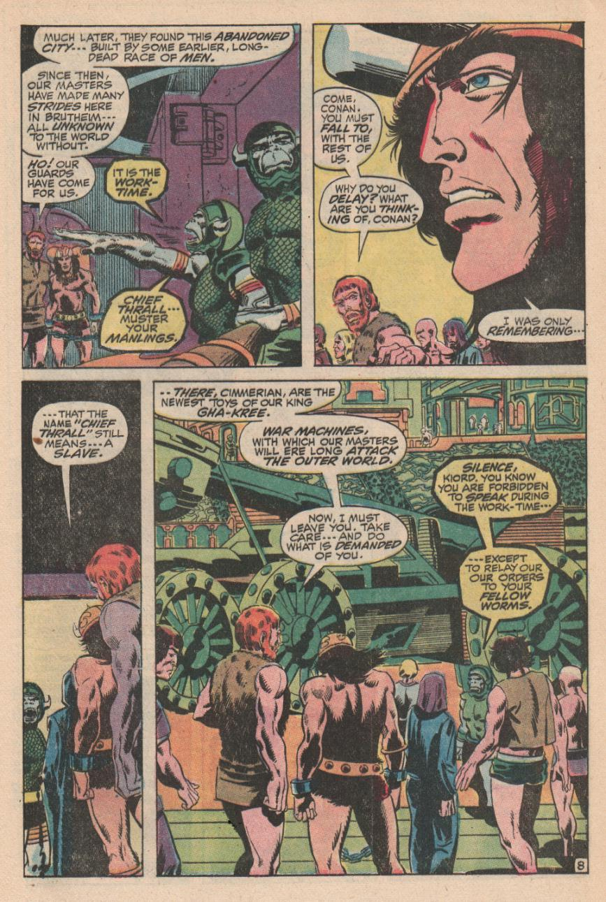 Conan the Barbarian (1970) Issue #2 #14 - English 9
