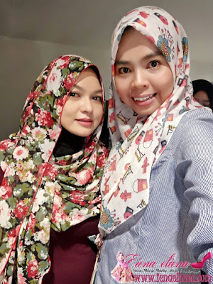 Pengasas La reena Rich Health and Beauty.  Norizalina Azhar