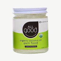 All Good Organic Coconut Oil Skin Food Lemongrass