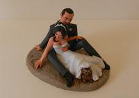 decorazioni torte sposini statuine torta nuziale cake toppe milano orme magiche