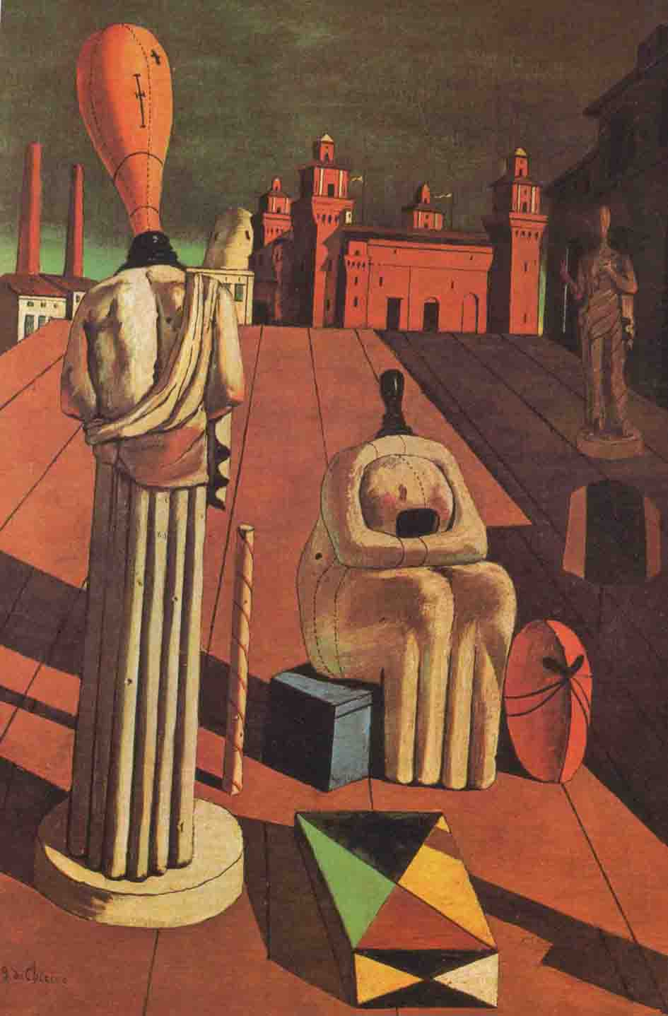 Artesplorando: Giorgio de Chirico, un pittore metafisico