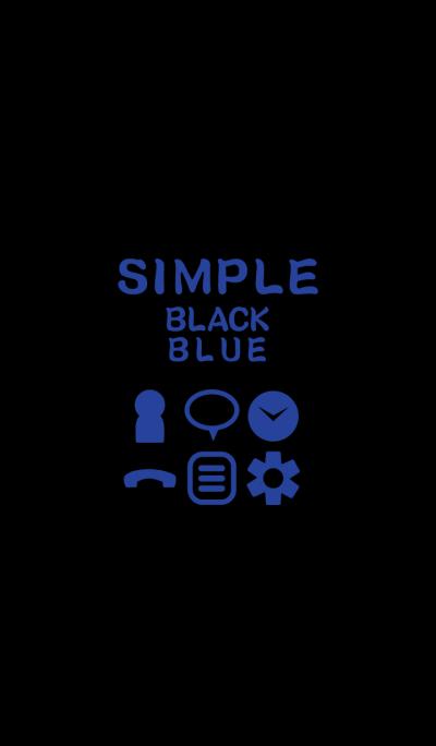 SIMPLE black*blue