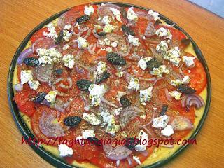 Πίτσα ελληνική ή αγροτική - από «Τα φαγητά της γιαγιάς»