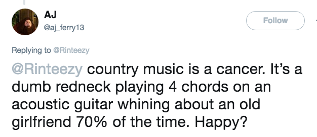Farce the Music: Country TwitterFAIL: Sept. \'18