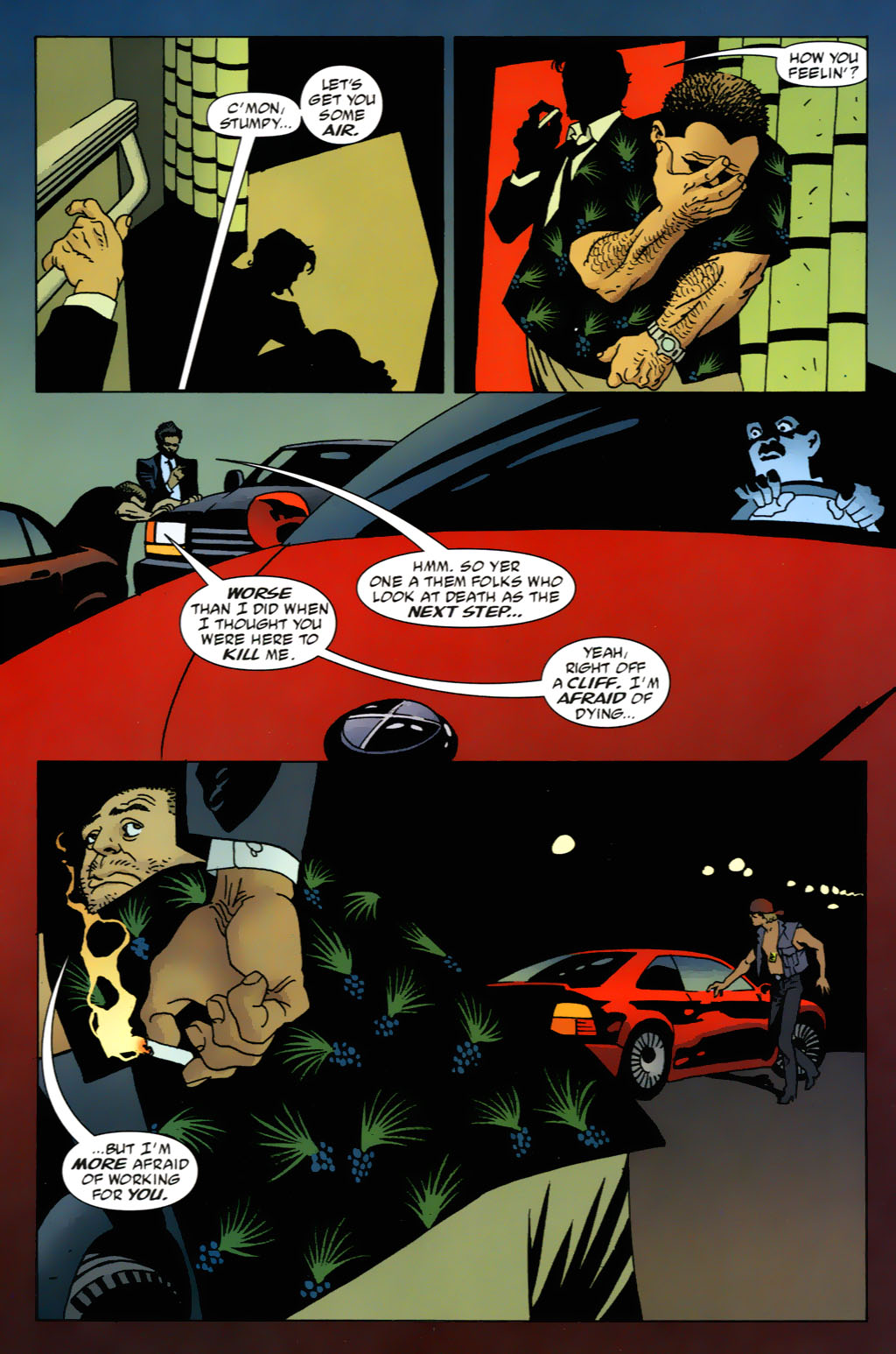 Read online 100 Bullets comic -  Issue #63 - 2