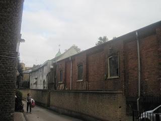 Back of All Hallows Church.