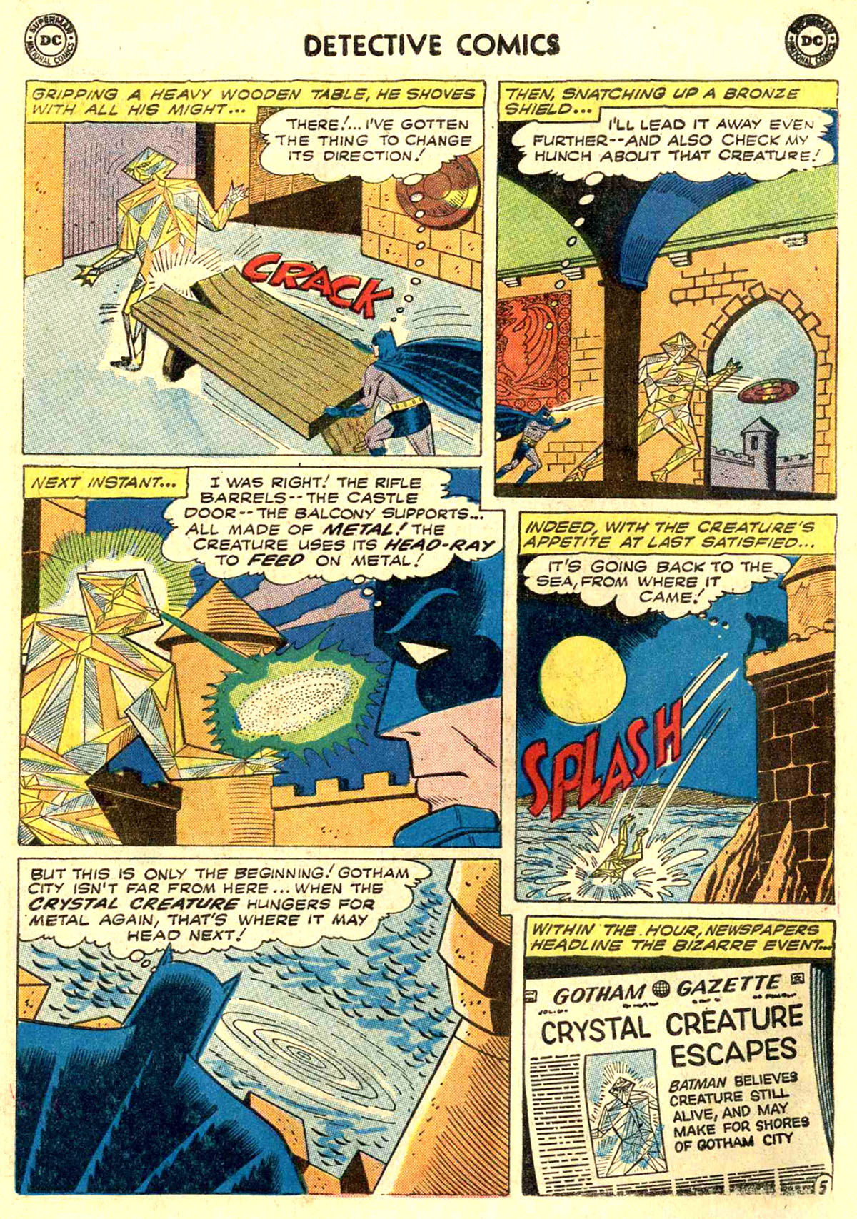 Read online Detective Comics (1937) comic -  Issue #272 - 7