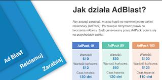 zarabiaj z AdBlast