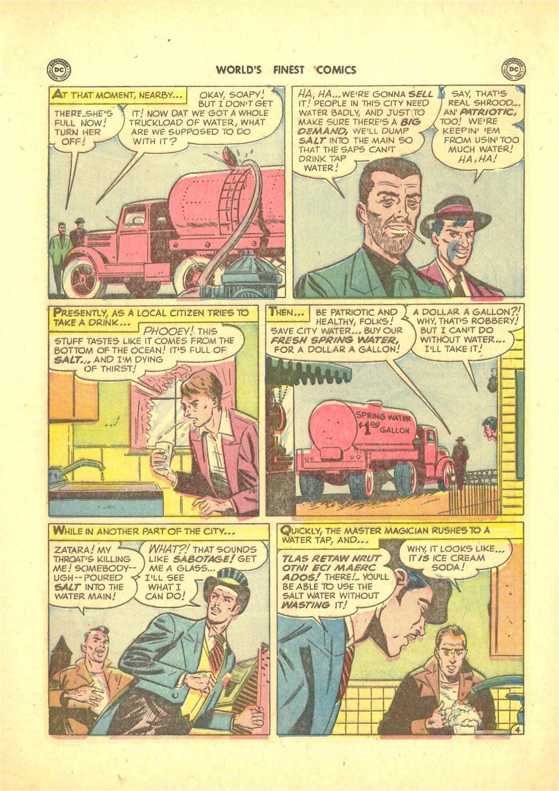 Read online World's Finest Comics comic -  Issue #50 - 58