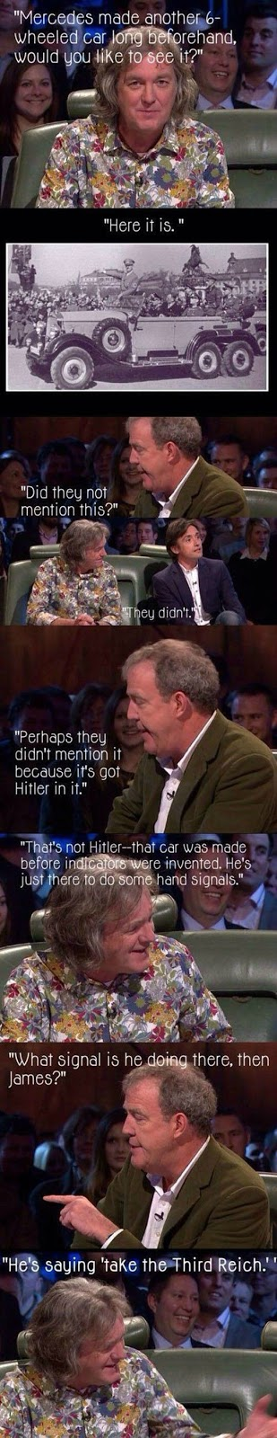 Top gear on Hitler