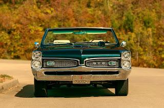 1967 Pontiac LeMans GTO Convertible Front