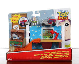 mattel toy story minis playsets andy's room