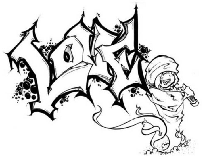 Top 15 Frei Graffiti Bilder Zum Nachmalen