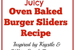 Juicy Oven Baked Burger Sliders
