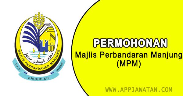 Jawatan Kosong di Majlis Perbandaran Manjung (MPM)