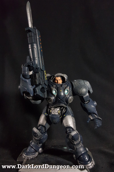 Heroes of the Storm: Starcraft James Raynor Action Figure