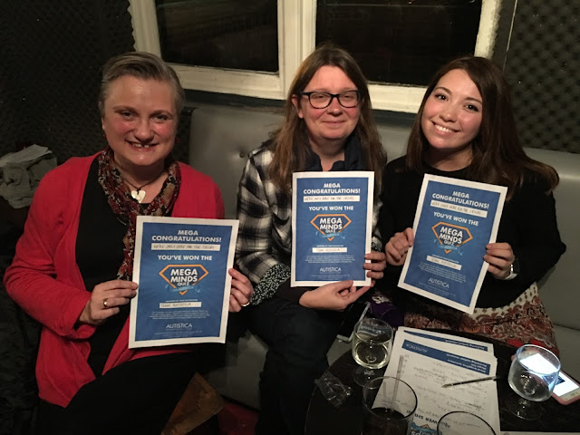 Bloggers, madmumof7, Island Bell and Live Otherwise Autistica quiz winners