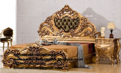 furniture mebel jepara,toko mebel jati klasik,furniture Jati Klasik duco mewah,code A1194