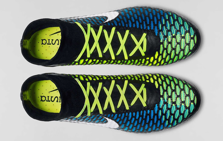 online retailer 994b7 32541 Check out all Nike Magista Soccer Cleat Colorways in our Boot Calendar. The  new Black   Blue   Volt Nike Magista Obra FG 2015 ...