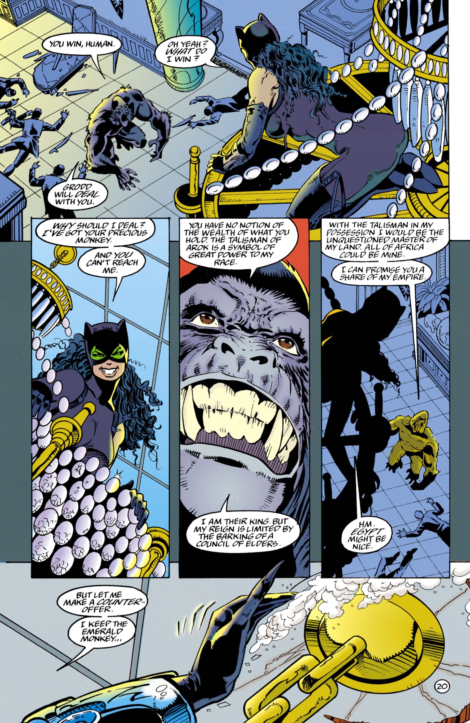 Catwoman (1993) Issue #27 #32 - English 21