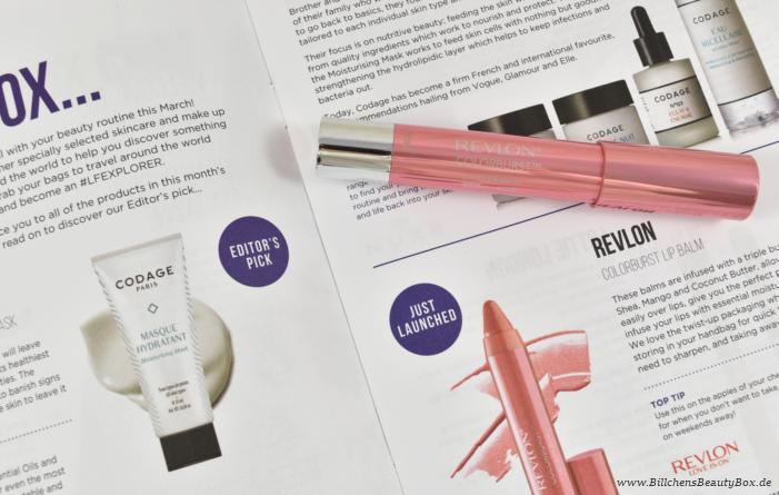 Lookfantastic Beauty Box März 2016