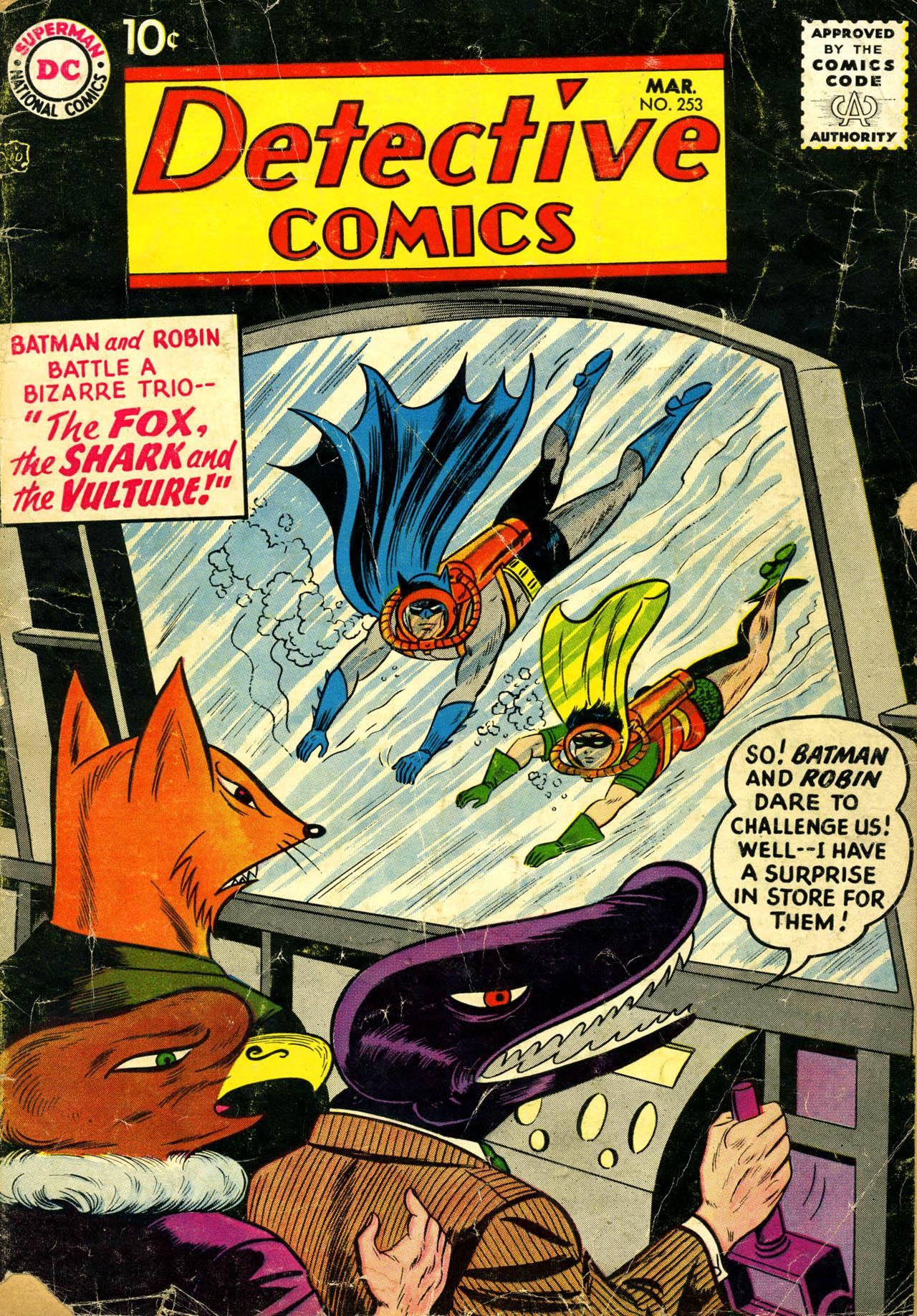 Detective Comics (1937) 253 Page 0