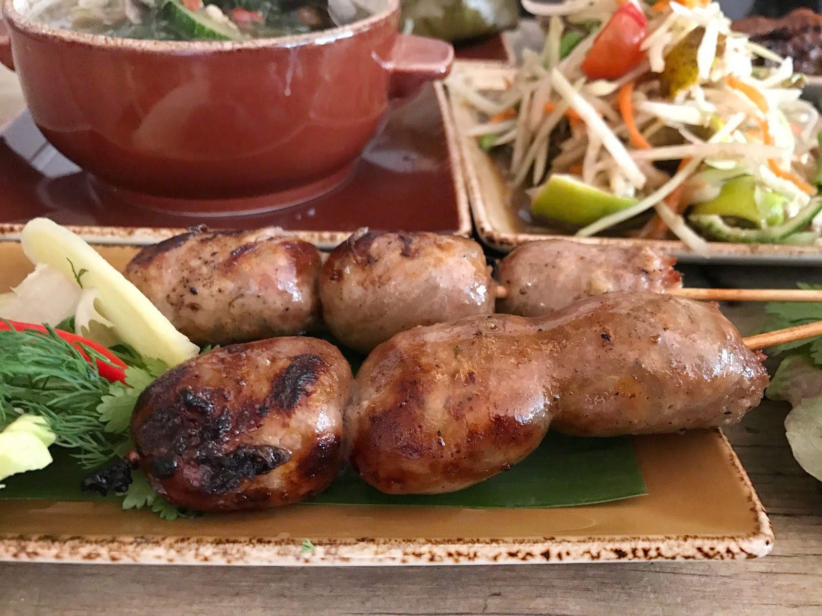 fermented-lao-sausages-Lao-cafe