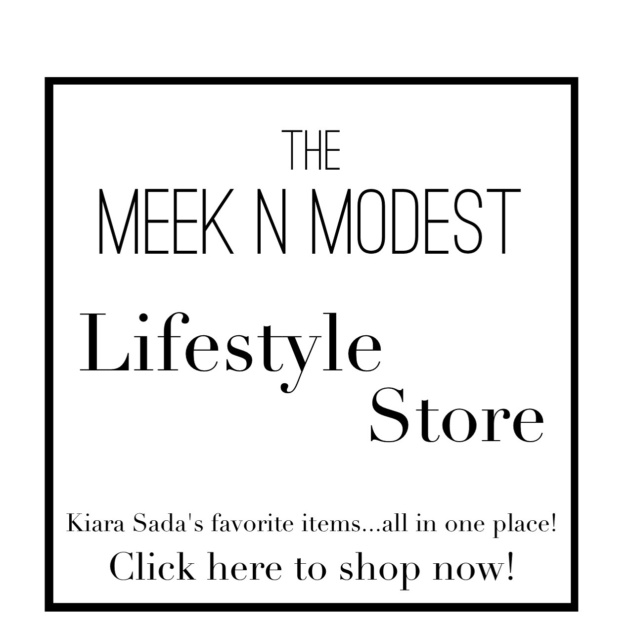 Meek N Modest Lifestyle Store