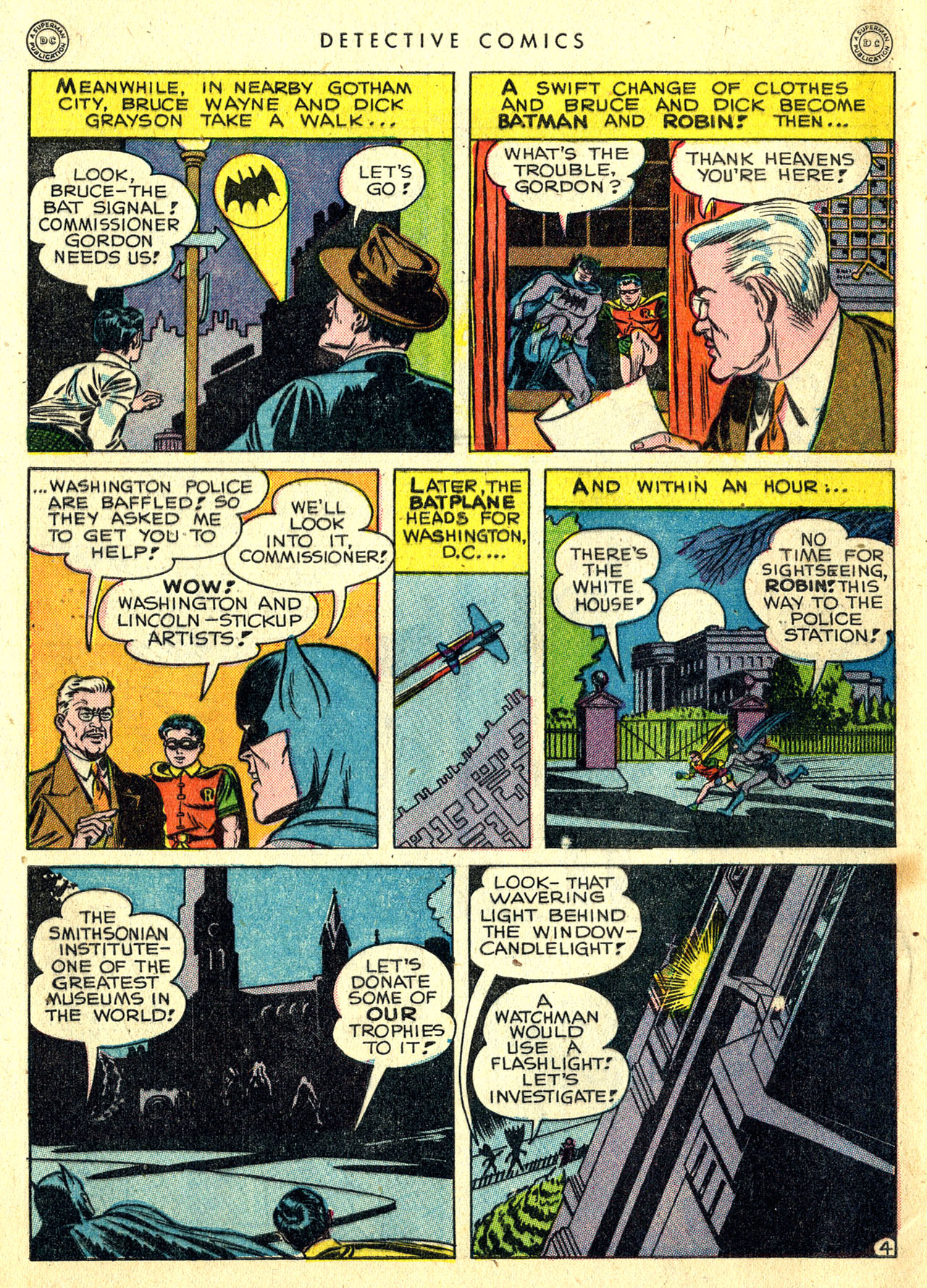 Read online Detective Comics (1937) comic -  Issue #119 - 6