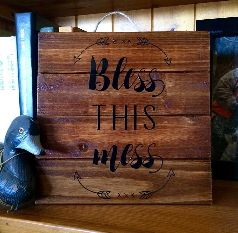 Designs By Lisa Somerville: Bless This Mess