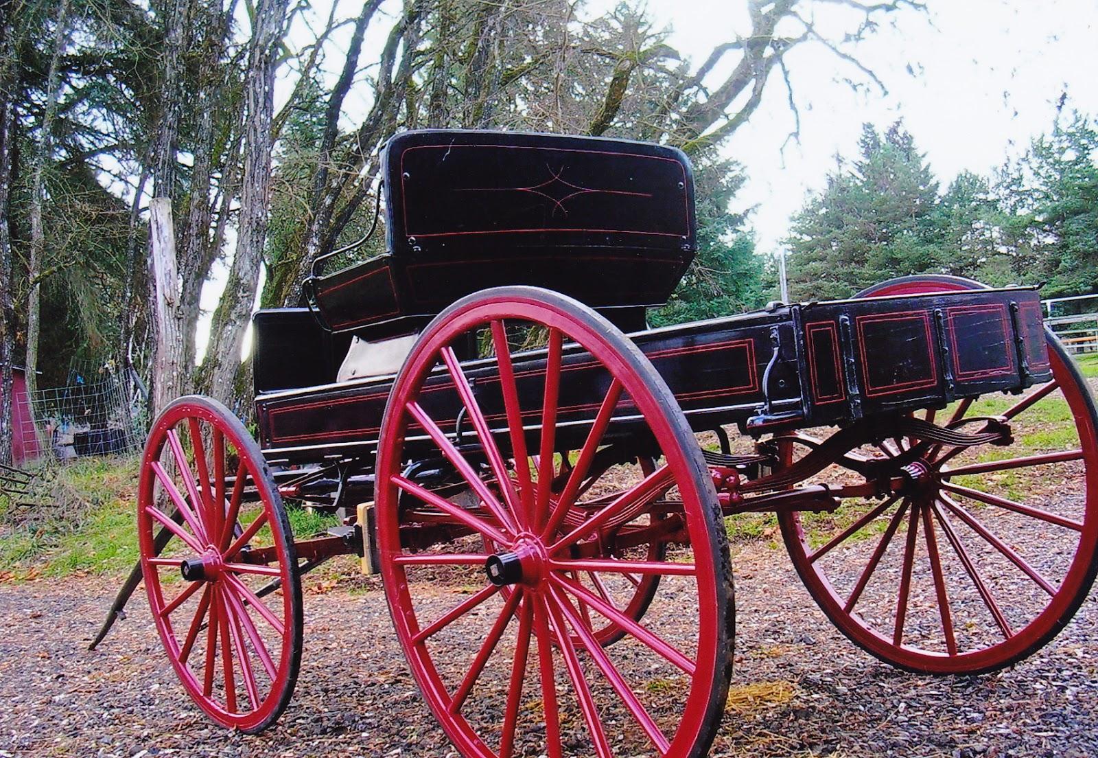 Horse Drawn Wagon Restoration Tailgate