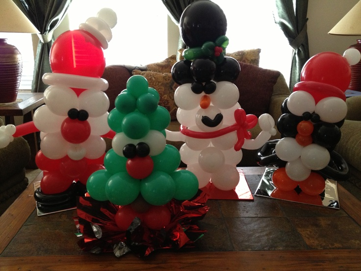 Christmas Balloon Gift Ideas 2016