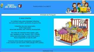 http://www.jogosdaescola.com.br/play/atividades/atividades_portugues/cama_cobertina.html