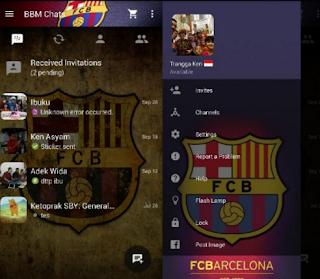Download BBM Barcelona Apk