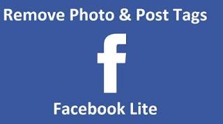 Cara Menghapus Tag di Facebook Lite