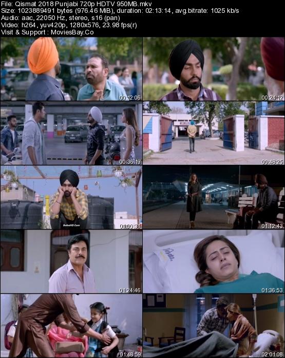 Qismat 2018 Punjabi 720p HDTV 950MB