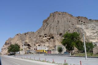 Parte Norte del Monasterio de Selime.